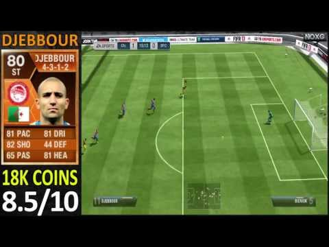 Man Of The Match  Djebbour Player Review Fifa13 Ultimate Team)