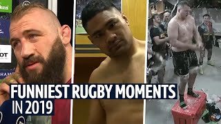 The funniest rugby moments on BT Sport in 2019!