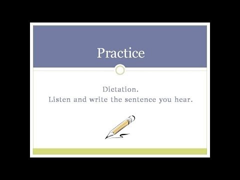 English Writing Skills 5: Dates, Time, And Numbers (part 2 Of 2) video