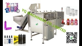 100ML rotary bottle unscrambler machines PLC control high speed plastic pet bottles sorter supplier