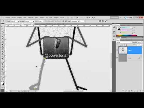 08 | Herramienta Deformación de posición libre || Curso Adobe Photoshop CS5/CS6/CC