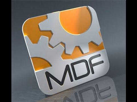 Как просмотреть mdf