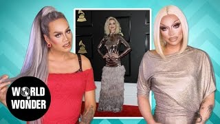 FASHION PHOTO RUVIEW: Grammys 2017 w/ Raja & Raven feat. Lady Gaga, Rihanna, Katy Perry & more!