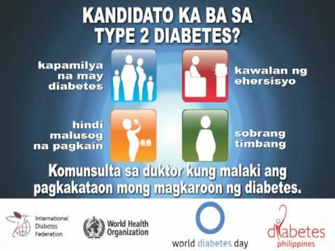 World Diabetes Day (Tagalog) by Diabetes Philippines