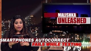 Funny Fails while Texting Ep # 3 | Malishka Unleashed