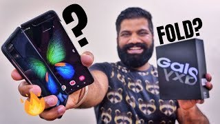 Samsung Galaxy Fold Unboxing & First Look - The Beyond Flagship Experience 🔥🔥🔥