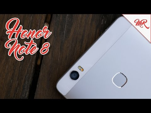 Honor Note 8 ◊ Review en Español ◊ Marcos Reviews