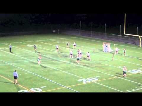Cape Elizabeth HS vs. Waynflete School Women's Lacrosse. - 04/12/2014