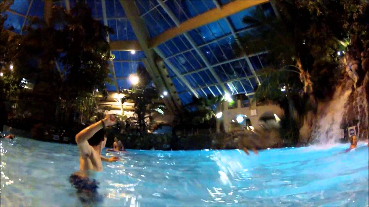 Center Parcs Elveden Worlds First Tropical Cyclone Rapids 2013 Youtube