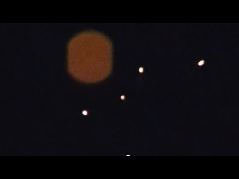 UFO over Hollywood FL, or Ceremonial Lamps or UFB?