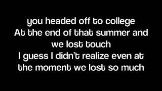 Lady Antebellum Video - Dancin' Away With My Heart-Lady Antebellum (Lyrics on screen)