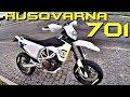 Первый раз на SuperMOTO! Тест-драйв, обзор Husqvarna 701!