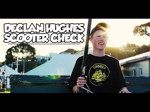 Declan Hughes Scooter Check 2014 | HD
