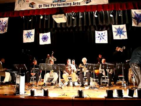 Spirit of Life Ensemble and Ted Curson perform  at Rafael Hernandez School