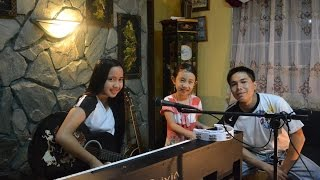 "The Script - Hall of Fame ft. will.i.am ""live"" acoustic cover by IsabelIris, Sofia and Lemuel"