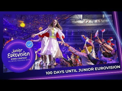 100 Days left until the Junior Eurovision Song Contest 2019!