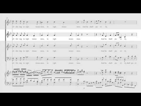 And he shall purify (Alto Video Tutorial w. voice)