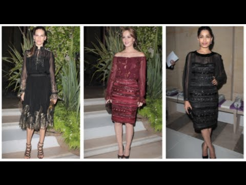 Leighton Meester Fashion, Ferragamo Louvre Party, Fab Flash