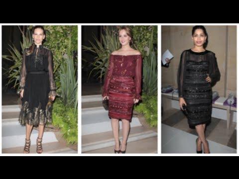 Leighton Meester Fashion, Ferragamo Louvre Party, Fab Flash