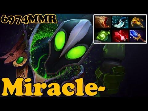 Dota 2 - Miracle- 6974 MMR Plays Rubick vol 3# - Ranked Match Gameplay