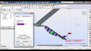 Autodesk Robot Structural Analysis-Modeling and Analysis of  Stair