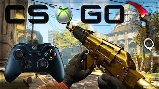 CS GO XBOX ONE GAMEPLAY - PLAY XBOX 360 GAMES ON XBOX ONE! (CS:GO)