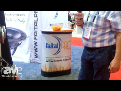 InfoComm 2016: FaitalPRO Shows 18HW1070 Subwoofer