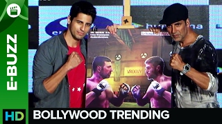Akshay Kumar and Siddharth Malhotra love to play games! | Bollywood News | ErosNow eBuzz