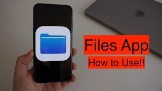 How To Use the Files Apps! (iPhone & iPad)