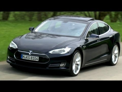 Tesla Model S: Porsche-Jger dst mit 416-Elektro-PS