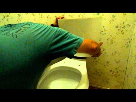 Installing a Glacier Bay Dual Flush Toilet