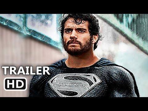 "JUSTICE LEAGUE ""Superman Black Suit"" Deleted Scene (2018) Superhero Movie HD thumbnail"