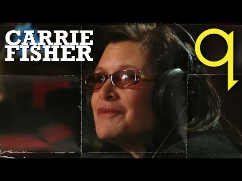 Star Wars luminary Carrie Fisher in Studio Q