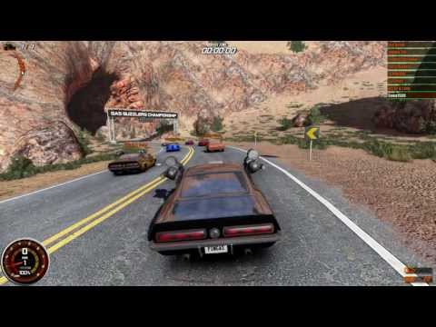 Gas Guzzlers: Combat Carnage [PC] - Lap Knockout: Elephant Butte Pass