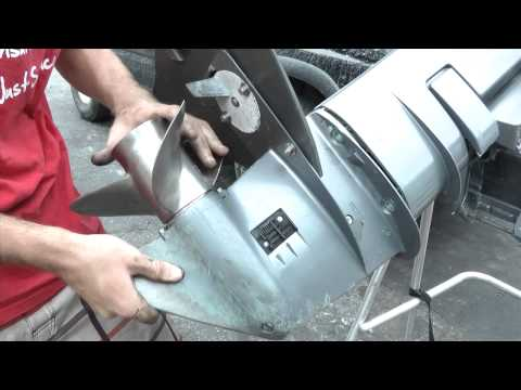 Yamaha 25hp outboard motor water pump replacement