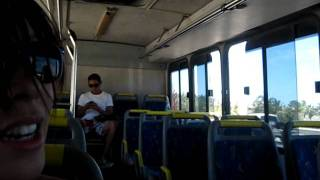On the bus to Cabo San Lucas