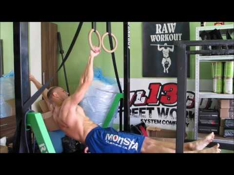 Regular training conditioning (35kg muscle up, oaps, levers...)