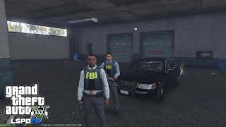 GTA 5 - LSPDFR - EPiSODE 42 - LET'S BE COPS - FBI/ FIB PATROL (GTA 5 PC POLICE MODS) Vespucci Beach