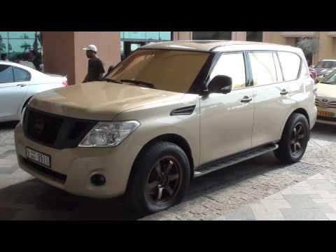 Nissan Patrol LE (golden tuning) + Porsche, G55 AMG & Hummer H2
