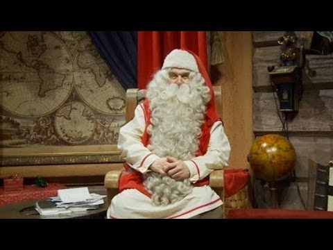 Santa Claus' annual Christmas message to the world