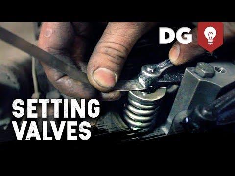 Dodge cummins turbo diesel 24v valve adjustment tutorial - by: diesel bombers