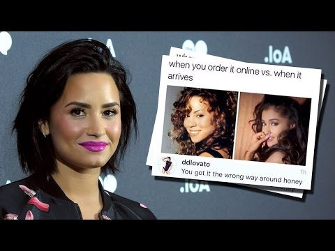 Demi Lovato SHADES Mariah Carey & Stands Up For Ariana Grande & JLo