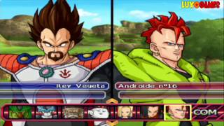 FAMILIA VEGETA vs FAMILIA FREEZER - Dragon Ball Z Budokai Tenkaichi 3 Version Latino