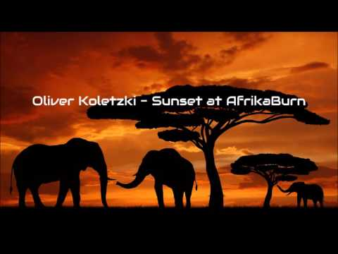 Oliver Koletzki - Sunset at AfrikaBurn