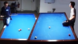 Artistic Billiard Regeneration by Venom
