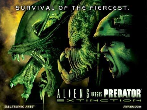 Aliens Vs Predator Extinction Marine Campaign 3