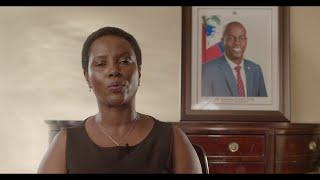 VIDEO: Declaration Martine Moise 17 Octobre 2021 - Dessalines ak Jovenel mouri menm jan