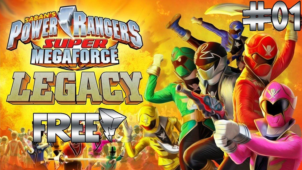 Jogos Em Flash 046 Power Rangers Super Megaforce Legacy