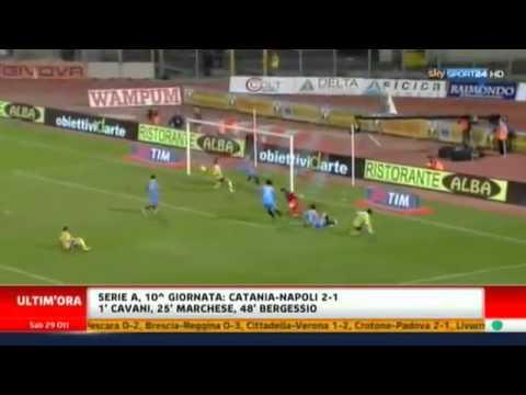 Catania 2-1 Napoli – SINTESI SKY SPORT HD