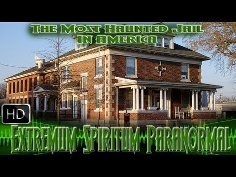 The Most Haunted Jail In America Franklin County Jail, Benton, IL. Ghost, EVP, paranormal, Halloween
